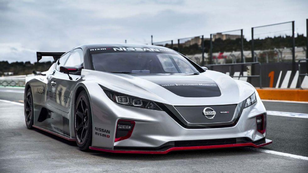 «Διπλό» το νέο Nissan LEAF NISMO RC