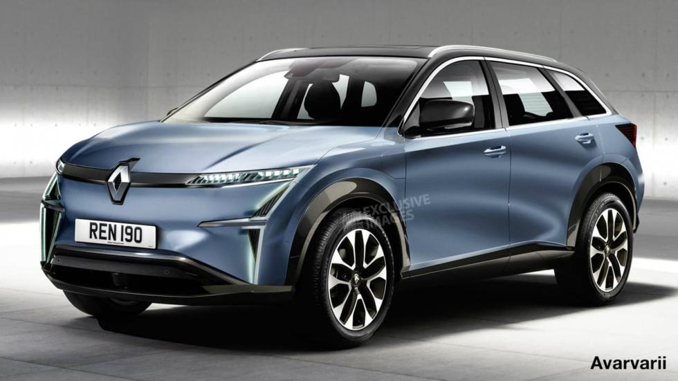 Νέο ηλεκτρικό SUV ετοιμάζει η Renault