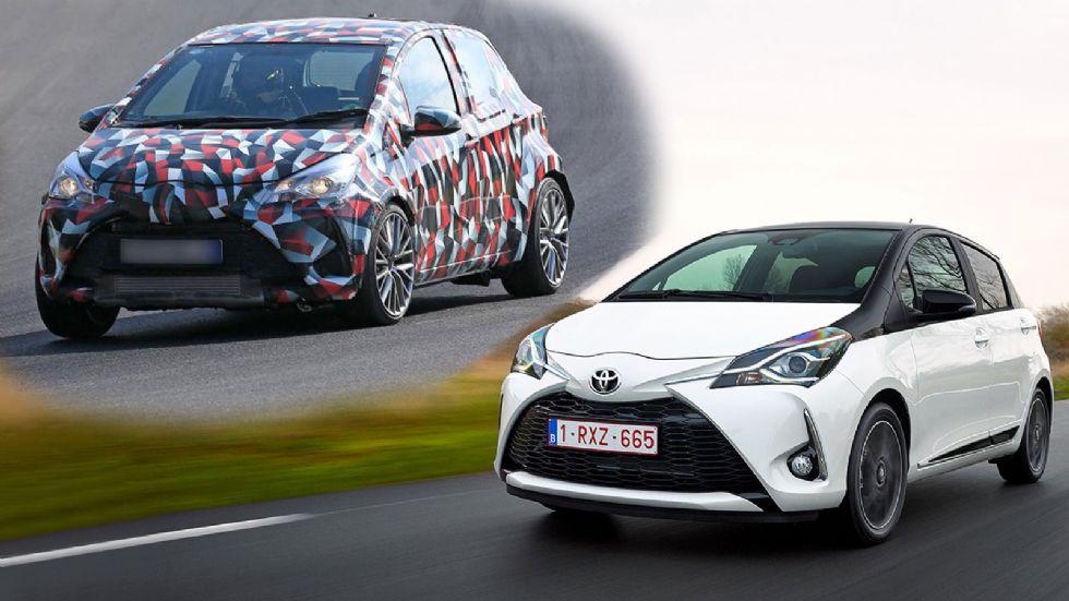 Ετοιμάζεται το νέο Toyota Yaris στο Ring (+video)
