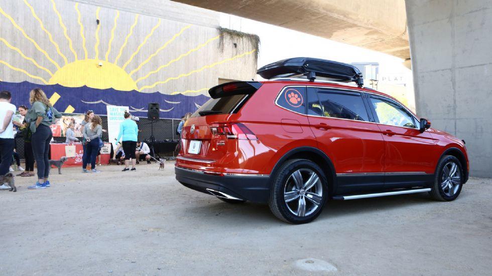 Ένα VW Tiguan φιλικό προς τα κατοικίδια