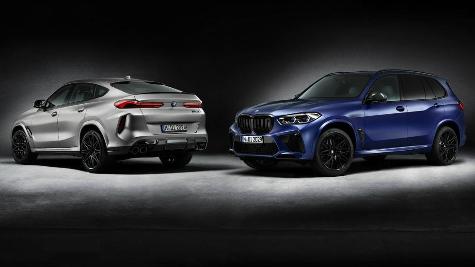 Οι BMW X5 M & X6 M Competition First Edition