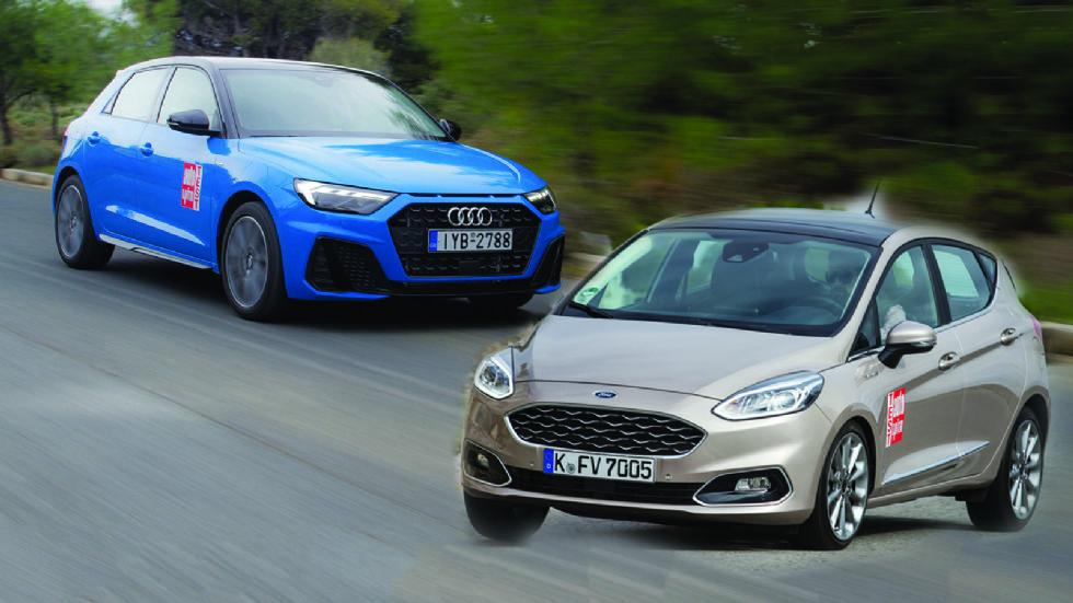 Ford Fiesta Vignale VS Audi A1 Sportback