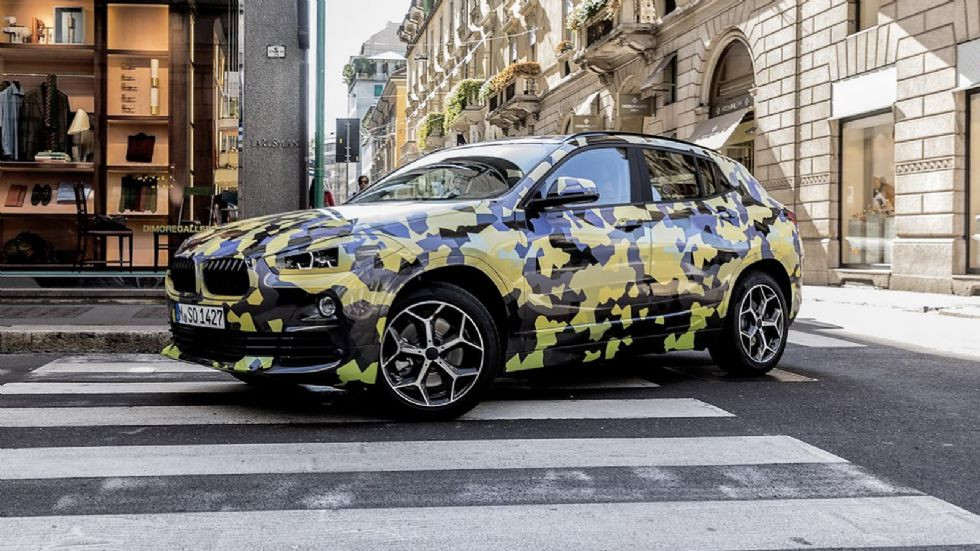 Η BMW μας «κρύβει» τη Χ2