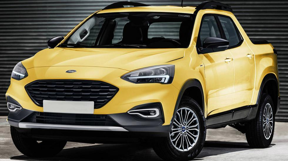 Μικρό pick-up από τη Ford
