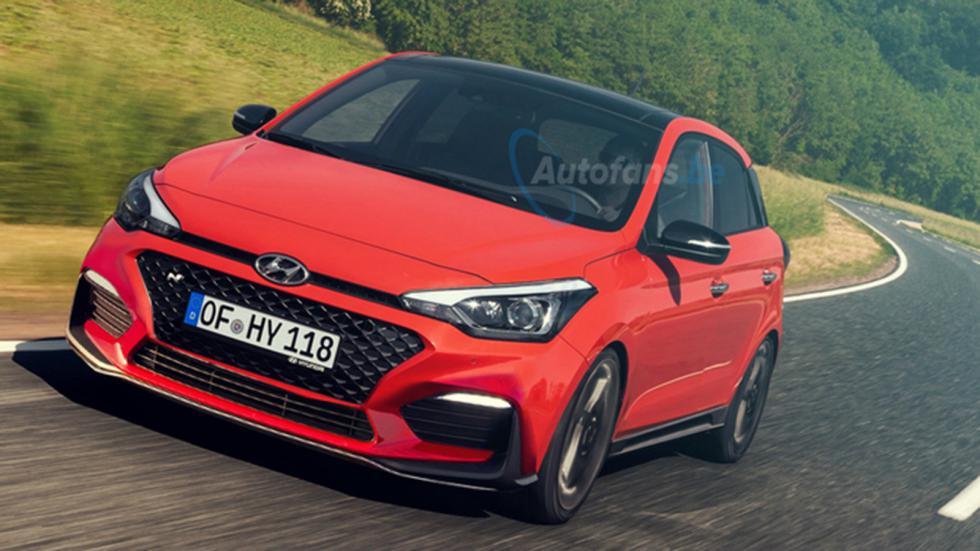 Το «καυτό» Hyundai i20 N;