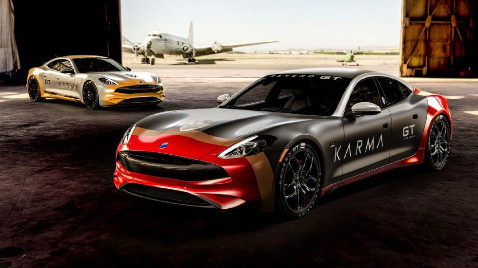 «Πολεμικά» Karma Revero GT με 536 άλογα