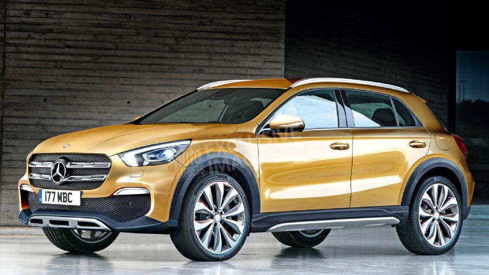 Έρχεται νέα Mercedes GLA