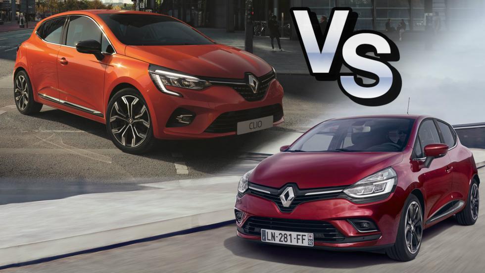 Renault Clio: Old Vs New
