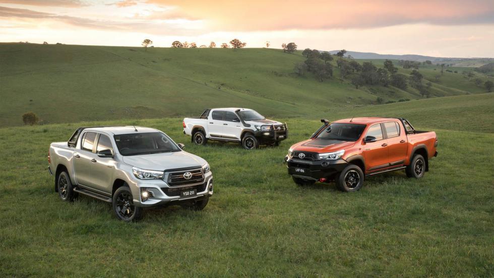 Νέες εκδόσεις Toyota Hilux