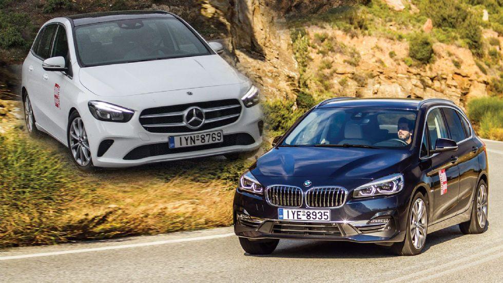 BMW Σειρά 2 Vs Mercedes B-Class