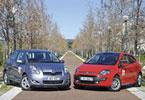Fiat Punto Evo 1,4 MultiAir VS Toyota Yaris 1,33