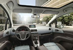 Το εσωτερικό του νέου Opel Meriva αποπνέει αέρα ποιότητας, ενώ έχει και πολλούς αποθηκευτικούς χώρους