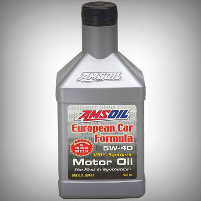 Afl European Car Formula Synthetic 5w 40 Motor Oil