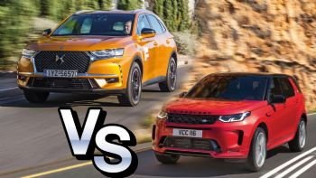 DS 7 Crossback VS Land Rover Discovery Sport