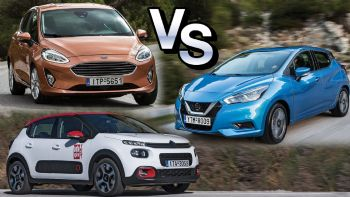 Citroen C3 VS Ford Fiesta VS Nissan Micra
