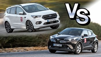 Ford Kuga Vs Toyota C-ΗR