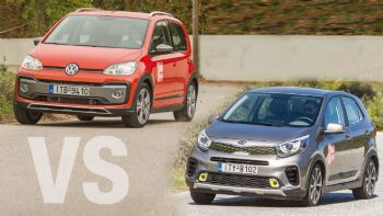 Kia Picanto X-Line vs VW Cross up!