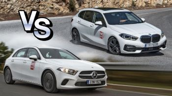 BMW 118i VS Mercedes-Benz A 180