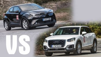 Toyota C-HR Vs Audi Q2