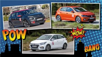 Citroen C3 VS Hyundai i20 VS VW Polo