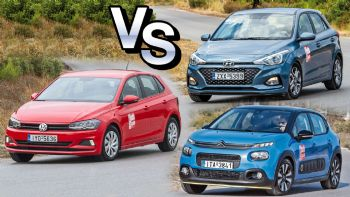 Μάχη της βασικής: Citroen C3 VS Hyundai i20 VS VW Polo