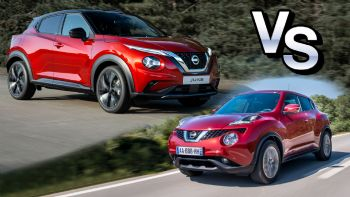 Nissan Juke: Old Vs New