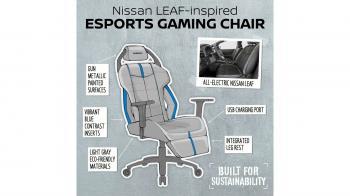 Video games με τις καρέκλες της Nissan!