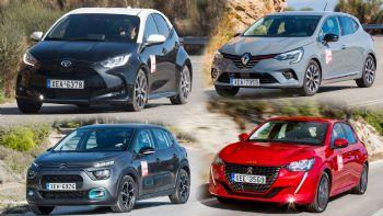 Το Toyota Yaris απέναντι στους Γάλλους ανταγωνιστές του!