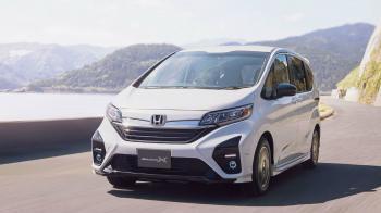 Ανανεωμένο Honda Freed Modulo X