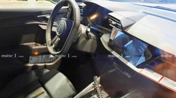 Ματιά στην καμπίνα του νέου Audi A3/S3