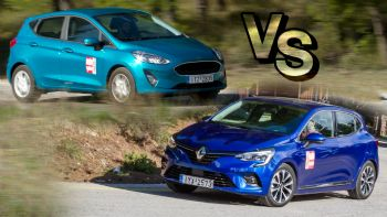 Στις βασικές diesel εκδόσεις: Fiesta ή Clio;