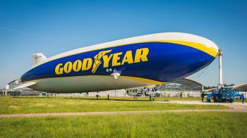 Το Zepellin της Goodyear επιστρέφει στην Ευρώπη