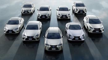 Τζακ-ποτ 2 εκατομμυρίων τα ηλεκτροκίνητα της Lexus