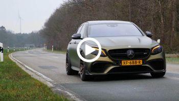 Mercedes-AMG E 63 S στα 307 χλμ./ώρα!