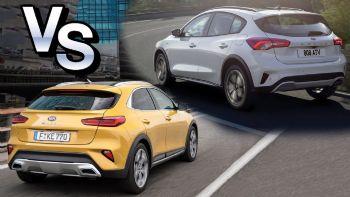 Ford Focus Active VS Kia XCeed