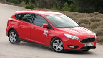 TEST: Aνανεωμένο Ford Focus 1,0 EcoBoost 125 PS