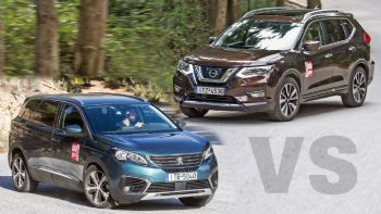 Peugeot 5008 VS Nissan X-Trail