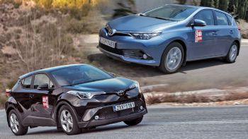Toyota Auris VS C-HR