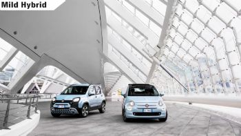 Tech: Πώς λειτουργούν τα υβριδικά Fiat 500 & Panda;
