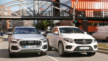 Audi Q8 vs Mercedes GLE Coupe