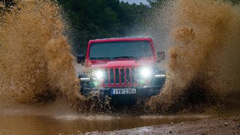 Δοκιμή: Jeep Wrangler Unlimited