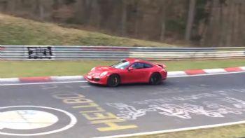 Porsche GTS στο Nurburgring