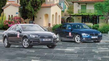 Audi A4 VS BMW Σειρά 3