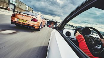 Bentley Continental Vs VW up!
