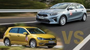 Νέο Kia Ceed Vs Volkswagen Golf