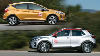 Ford Fiesta Active vs Kia Stonic