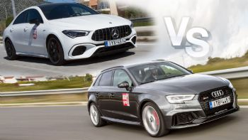 Στα 400+ PS: Audi RS3 Vs Mercedes-AMG CLA 45 S