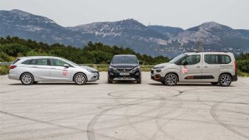 Citroen Berlingo vs Opel Astra S/W vs Peugeot 3008