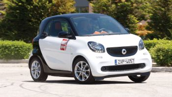 Test:smart fortwo auto