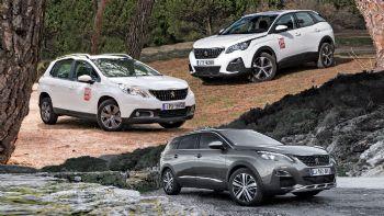 Όλα τα SUV της Peugeot